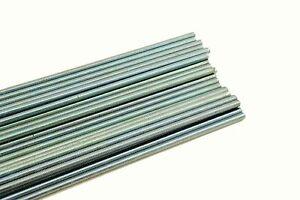 """(25) Threaded Rod 3/8-16 x 36"""" A307 Zinc Plated All-Thread 3/8 x 3 ft"""