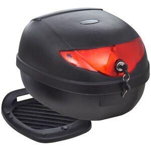 vidaXL-Motorradkoffer-Top-Case-Roller-Koffer-Motorradtasche-Rollerkoffer-36L