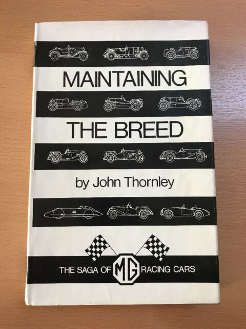 Maintaining The Breed by John Thornley