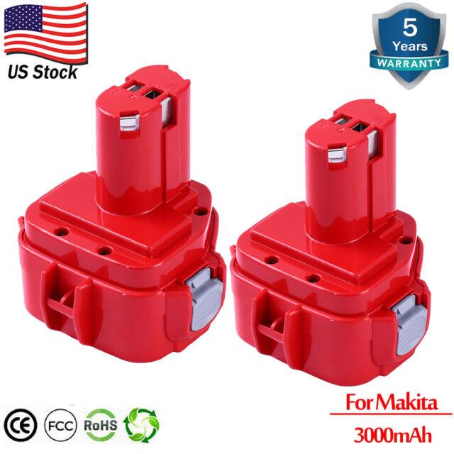 3000mAH Ni-MH Battery For Makita PA12 1200 1220 1222 1233 1234 1235 12Volt Drill