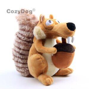 Ice-Age-Scrat-Plush-Toy-Funny-Cute-Squirrel-Stuffed-Animal-8-039-039-Doll-Cuddly-Gift