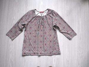 Haut-Griffon-taille-2-blouse-top-imprime-M-40-tres-bon-etat