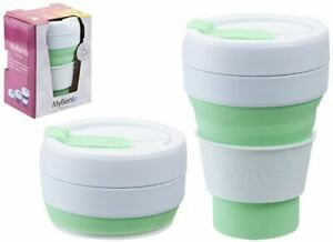 Summit-Mybento-Pop-Taza-355ML-Plegable-Silicona-Cafe-Taza-de-Viajes
