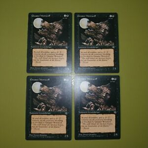 Greater-Werewolf-x4-Homelands-4x-Playset-Magic-the-Gathering-MTG