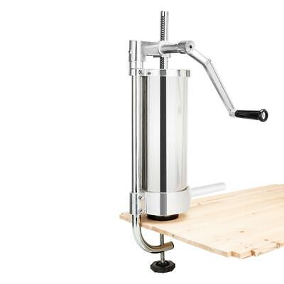 Rovsun 3L Vertical Stainless Steel Sausage Stuffer for $49.76 + free shipping