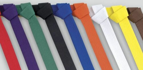 Cimac Karate Belt Blue White Red Orange Yellow Green Purple 240cm 280cm 320cm