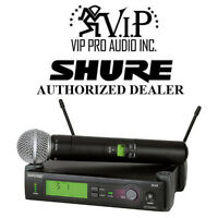 Shure Slx24/sm58-g4 Handheld Wireless Microphone System G4: 470-494 Mhz Sm58 Mic