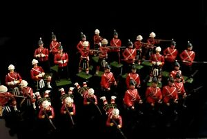 Vintage-lead-soldiers-Scottish-Regiment-Britain-039-s