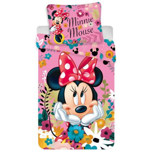 Disney Minnie Mouse Single Duvet Cover Set 140 x 200 cm   Minnie Blossoms