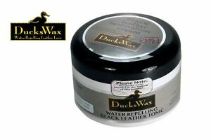 DUCKSWAX-LEATHER-BOOTS-SHOES-JACKET-WAX-DUBBING-WATERPROOF-PROTECTOR-100ml-BLACK