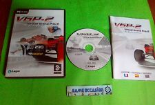 VGP-2 VIRTUAL GRAND PRIX 2 BY PAOLO CATTANI / PC CD-ROM FR COMPLET