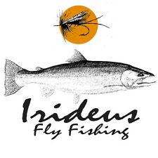Alaska Fly Box Irideus GreenWater Recon  Fly Fishing Trout Salmon fishing Box