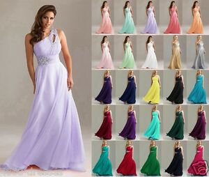 Stock-Long-Wedding-Party-Dress-Evening-Bridesmaid-Ball-Gown-Prom-Formal-Dresses
