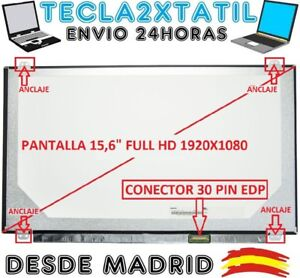 PANTALLA-LP156WF4-SP-L1-15-6-WUXGA-1920x1080-Full-HD-LCD-LED-30-pin-EDP-NO-IPS