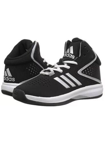 NIB New Adidas Cross Em Up 2016 K Wide YOUTH BW0790 Basketball Sneakers Black