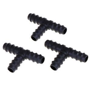 8XGarden-hose-tee-water-splitter-16mm-connector-garden-irrigation-barbed-tee-EV