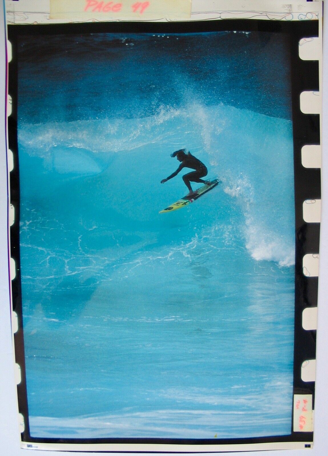 Vintage 1988 Original Photograph Breakout Surf Magazine Vol 8 No 4 Surfboard 16