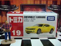 Tomica 19 Chevrolet Camaro 1/65 Scale In Box