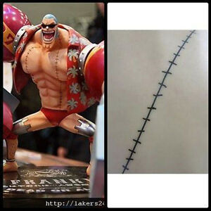 Anime-Cosplay-One-Piece-Temporary-Bady-Tattoo-Sticker-2-Year-Later-Franky-Scar