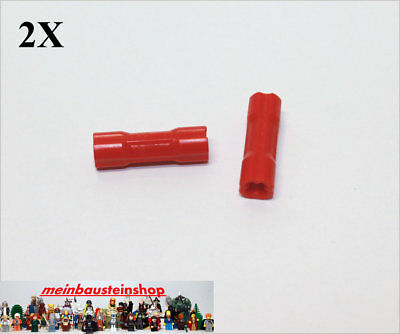 1x Lego Technic Pin Verbinder 3L rot 32557 Technik 4158836