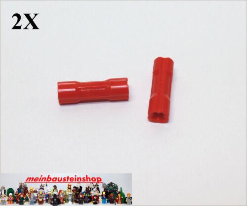 2X Lego® 26287 Technic Achserweiterung Getriebe Ring Verbinder Rot Red NEU