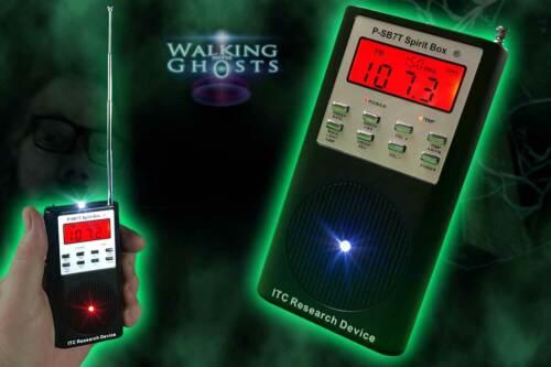 P-SB7T Rev5 Spirit Box ITC Research FM//AM Ghost PSB7 Radio Paranormal New Model