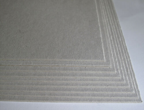 9 X A3 greyboard Gris Craft Tarjeta extrathick 2000mic Mm Para backing//mountboard //