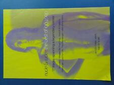 IGGY POP  NUDE & RUDE Original Virgin Record Shop Poster