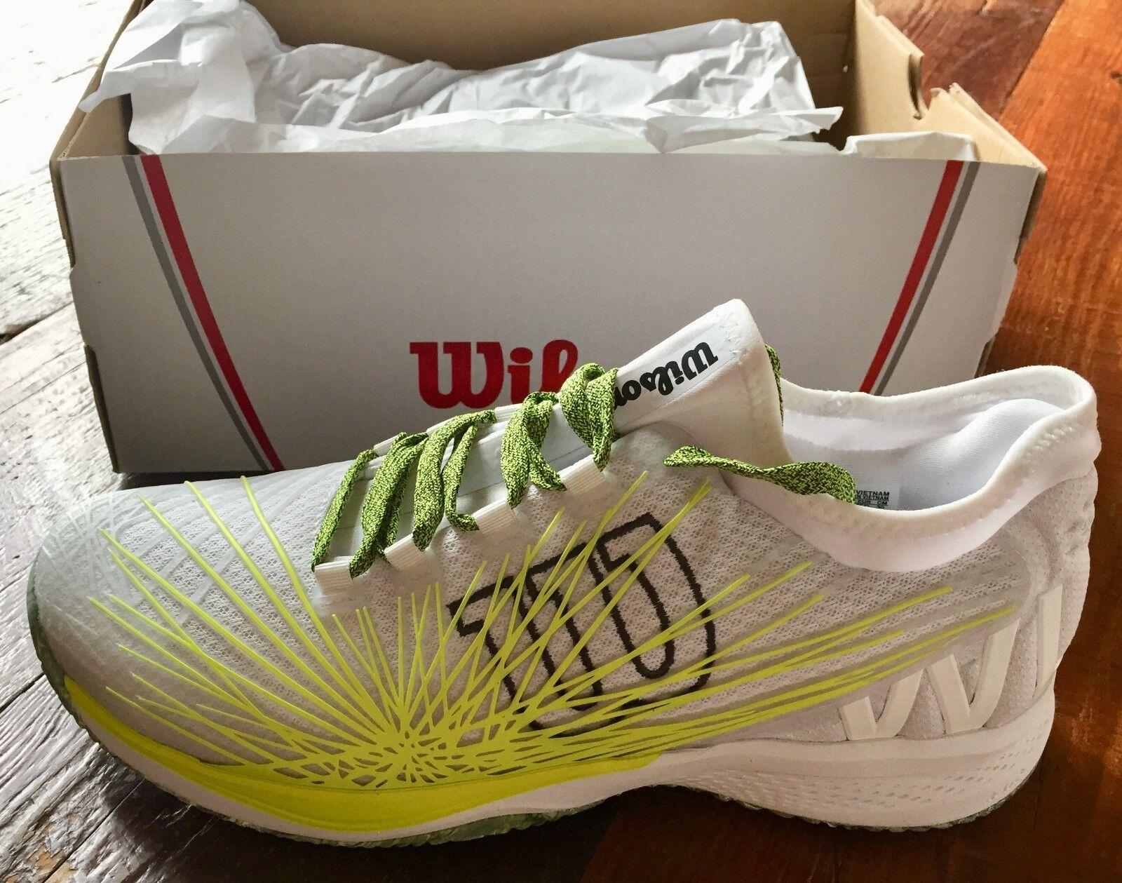 Wilson Kaos 2.0 Sft Para Hombre Zapato De Tenis Nuevo Con Etiquetas