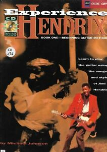 Methode-CD-guitare-Jimy-Hendrix-Experience-Book-1-En-anglais