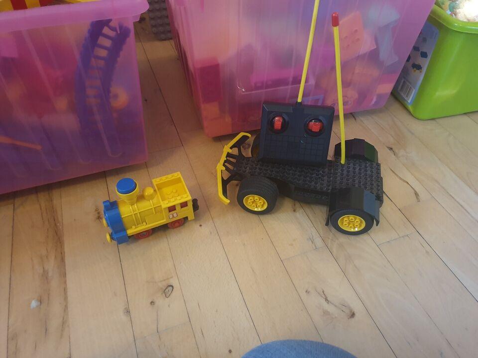 Lego blandet, Lego og dublo samt lego tog og fjernstyret