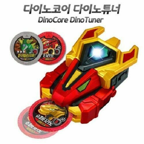 Dino Core Dino Tuner Wrist Band Active Sound Toy Bracelet Action Anime_NK