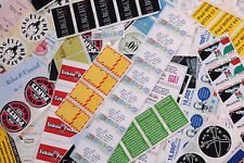 500 Full Colour Printed 63x38 Self Adhesivesticky Paper Labels Custom Printed