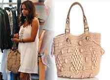 GORGEOUS!!! GERARD DAREL Boho SYRACUSE Long Popcorn Crochet Knit Bag Handbag