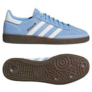 ADIDAS-ORIGINALS-HANDBALL-SPEZIAL-Baskets-Bleu-Clair-Gum-Baskets-Chaussures-Homme