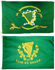 3x5 3'x5' Wholesale Combo Set Son's of Erin Irish & Erin Go Bragh 2 Flags Flag