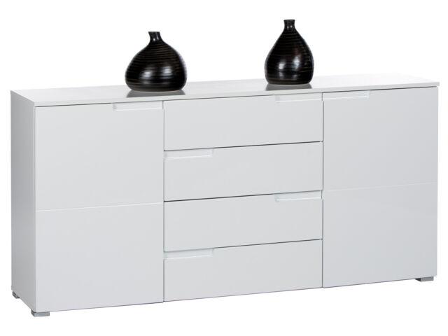 Roller Spice Sideboard 8 Weiß Hochglanz Wohnzimmer Schrank | eBay