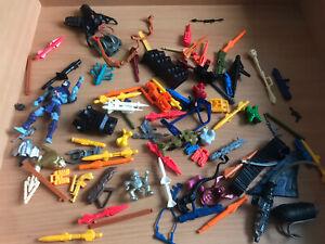 MOTU-He-Man-Gi-Joe-Action-Man-weapons-vintage-accessories-spares-bundle-Mattel