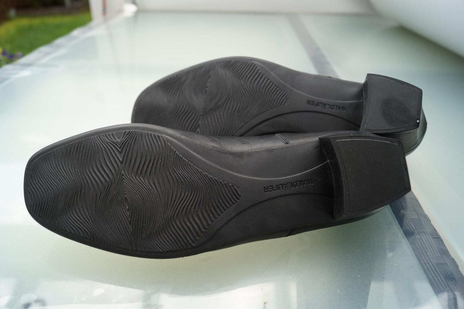 WALDLÄUFER Damen Leder Comfort Schuhe Slipper Pumps Leder Damen Einlagen Gr.7 H 41 NEU +2 5a87ff