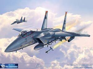 ART PRINT: F-15C Shogun Eagles - Print by Shepherd
