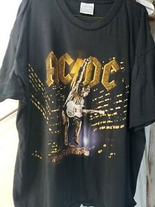 AC//DC Men/'s Stiff Upper Lip Lightning Vest