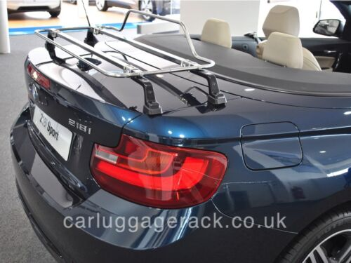 BMW 2 Series Convertible Boot Luggage Rack Stainless Steel