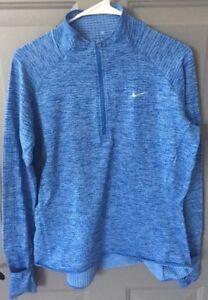 Camisa Zip running Azul 85 de Nike Half Sphere Grande rXSrgxT