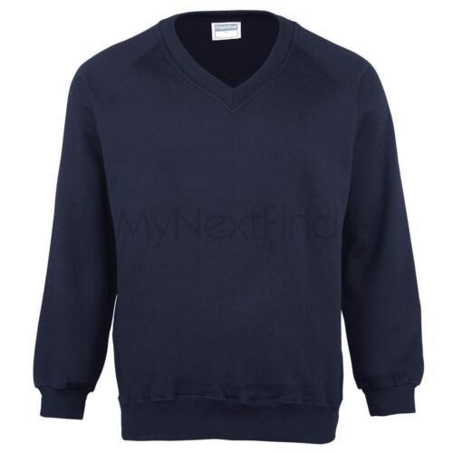 Maddins Coloursure V-Neck Sweatshirt