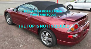 Image Is Loading MITSUBISHI ECLIPSE SPYDER CONVERTIBLE TOP DO IT YOURSELF