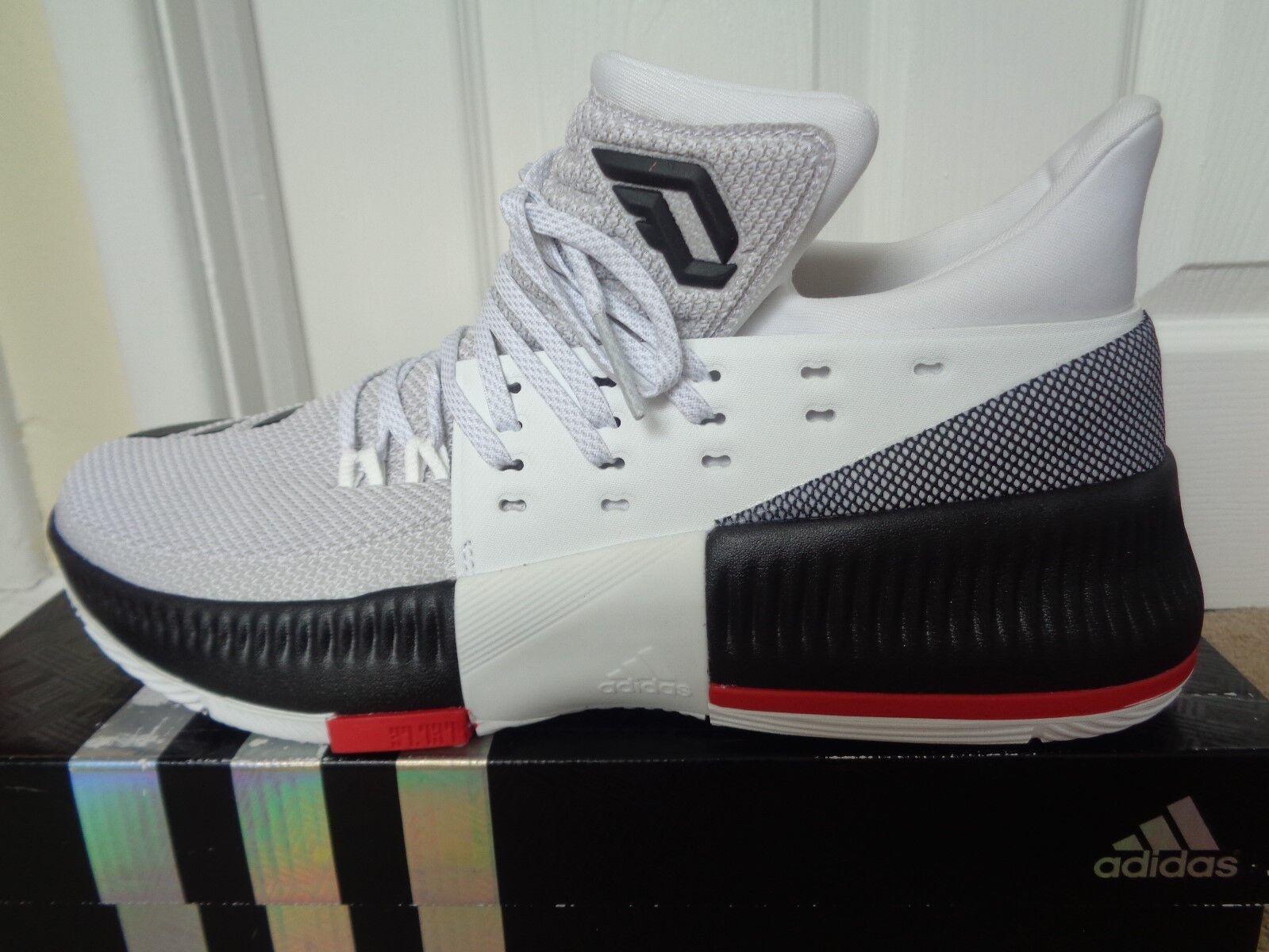 Adidas D Lillard 3 trainers sneakers chaussures BB8268 uk 9 eu 43 1/3 us 9.5 NEW+BOX