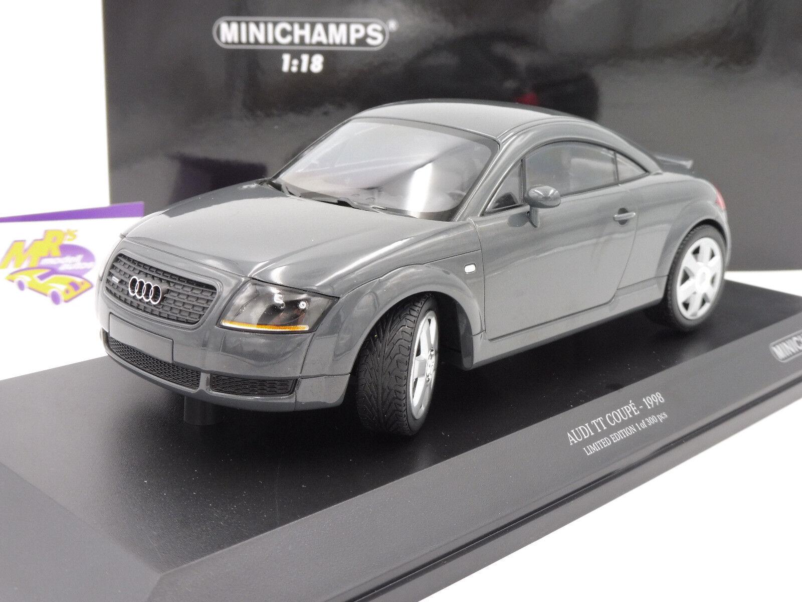 MINICHAMPS 155017020  i TT Coupé Année De Fabrication 1998 in  grismetallic  1 18 NEUF
