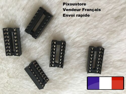 Lot of brackets for lyre 16 pin integrated circuit lot choice dip 16 4-60
