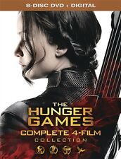 THE HUNGER GAMES COMPLETE 4 FILM COLLECTION New 8 DVD Catching Fire Mockingjay