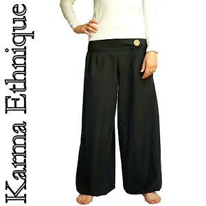 Nepal Pa05 36 Taille Grande Créateur Au du Sarouel 52 Pantalon Hiver Noir fwqExvYTw